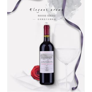 LOSVASC0S-2017智利小拉菲葡萄酒